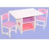 Heart Table Set w/Pastel Bins 26913 (KK)