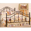 Sandy Black Metal Bed 2740 _ (CO)