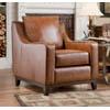 Avery Accent Chair 28002Tan (SF)