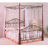Cherry Finish 4 Post Bed With Canopy 2810Q (CO)