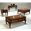 Occasional Tables In Pecan Finish 304_ (CO)