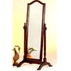 Cherry Finish Cheval Mirror 3103 (CO)