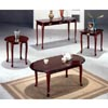3-Pc Cherry Finish Coffee And End Table Set 3105 (CO)