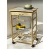 Pine Kitchen Cart 34123(OI)