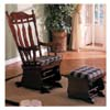 Cherry Finish Glider Rocker 3558 (CO)