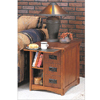 Mission Oak Magazine Cabinet 356(PW)