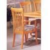 Maple Finish Arm Chair 3577A (IEM)