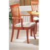 Cherry Finish Arm Chair 3577CA (IEM)