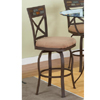 Parsley Swivel Counter Stool 367-728(PW)