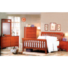 5-Pc Brandy Finish Bedroom Set 3929_ (CO)