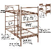 Demountable Metal Bunk Bed 4000(ABM)