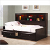 Solid Wood Phoenix Daybed in Cappuccino Finish 400410_(CO)