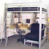 Full Size Studio Loft Bed 4037_(ML)