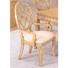 Antique White Finish Arm Chair 4052 (CO)