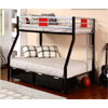 Einsteins Twin/Full Bunk Bed 4071(ML)