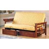 Futon Arms In Weathered Oak With Two Drawers 4075/76 (CO)