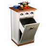 Upscale Butcher Block Bin w/pantry 4124(VHFS)