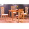 Solid Wood 5 Pc Finish Dinette Set 4158/4108 (PJu)