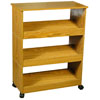 Shoe Racks-3 W/Top & Casters4219(VHFS)