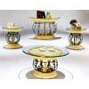 Antique Brass Hand Bush Coffe Table  4241C (IEM)