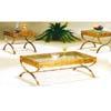 Antique Brass Hand Bush Coffee Table Set 4242MX (IEM)