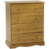 Solid Wood Chest With 4 Drawers 530_(PL)