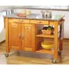 Granite Top Work Island 4354N6-GRA-AB-KD (LN)