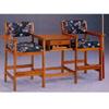Oak Finish Spectator Chair in Pair 4354 (CO)