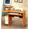 Oak Finish Computer Desk 4366 (CO)
