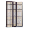 Black Finish Herbal Floral screen 4408(CO)