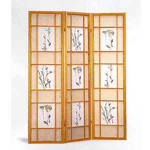 Natural Framed 3 Panel 4409(CO)