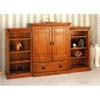 Entertainment Center In Oak Finish 4544/L/R (CO)