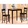 3-Pc Bar Set In Cappuccino Finish 4555/5687 (CO)