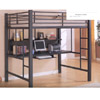 Full Size Workstation Loft Bed 460023 (CO)