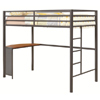 Twin Metal Workstation Loft Bed 460229(COFS)