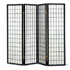 Four panel Black Framed Screen 4624(CO)