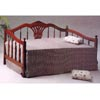 Hand Carved Dark Oak Daybed 4805 (CO)
