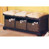 Storage Bench w/Baskets 5010_4(CO100)(Free Shipping)
