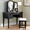 Antique Black Vanity Set 43 In. 502-290(PW)(Free Shipping)