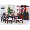 7-Pc Cherry Finish Queen Ann Dining Set 6015/6016/6017(ABC)