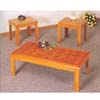 Parquet Top 3 Pcs Coffee Table Set 5168 (CO)
