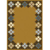 Rug 5311 Gold (HD) Modern Weave Collection