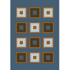 Rug 5320 Blue (HD) Modern Weave Collection