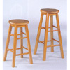 Oak Finish Stool 53_ (CO)