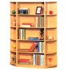 Bookcase And Side Stands 555-5_ (E&S)