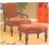 Accent Chair w/Ottoman 5607 (ABC)