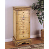 Masterpiece Antique Parchment Jewelry Armoire 582-314 (PW)