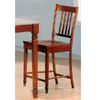 24ÃÃH Walnut Finish Bar Stool 5979 (CO)