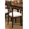 Dimond Back Cherry Finish Side Chair 6002 (CO)
