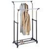 Double Adjustable Garment Rack 1719(OIFS15)